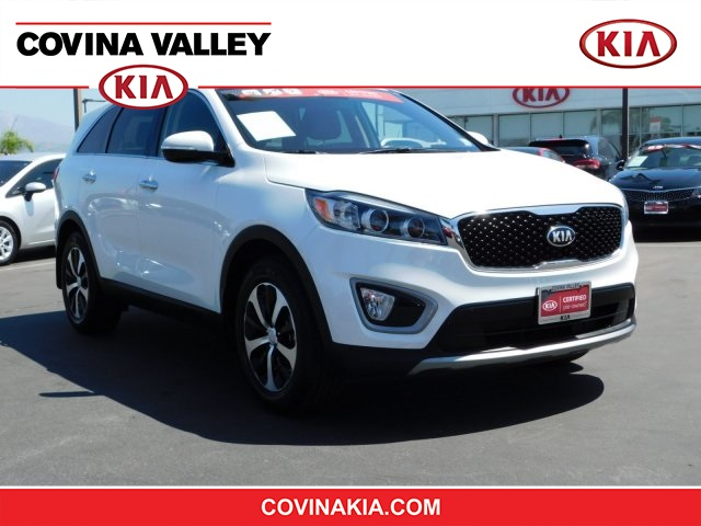 Kia Certified Pre-Owned >> Certified Pre Owned 2016 Kia Sorento Ex Fwd 4d Sport Utility