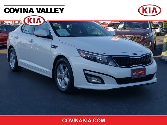 Certified Pre-Owned 2015 Kia Optima LX