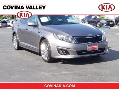 Certified Pre-Owned 2015 Kia Optima SXL